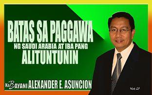 Itanong Mo Kay Kabayani in Pinoy Extra (ArabNews)