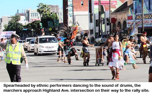 ethnic performers