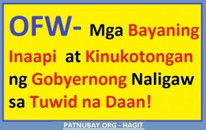Bayaning OFW